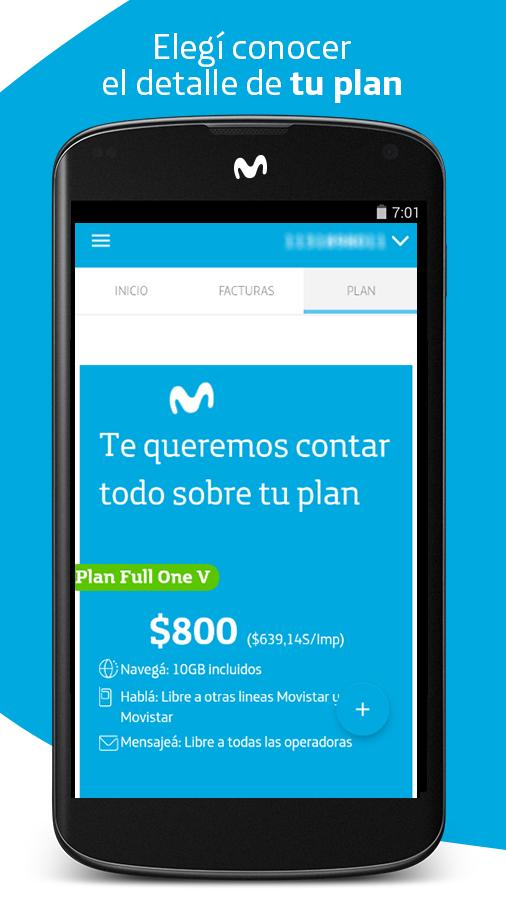 Mi Movistar - AR: captura de pantalla