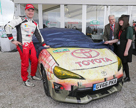 Chance to design livery for rally car