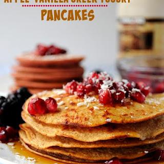 Yogurt Pancakes No Flour Recipes.