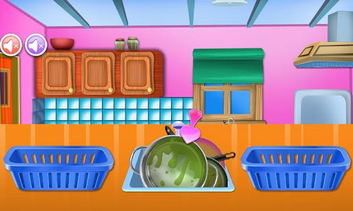house cleaning games screenshot 2