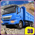 Modern Transport Truck driver icon