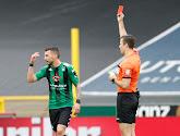 Dimitar Velkovski van Cercle Brugge mag even gaan bezinnen van het Bondsparket