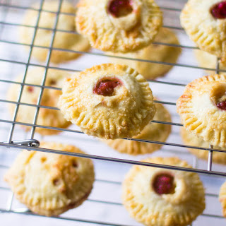 tMascarpone Rhubarb Hand Pies