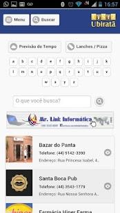 Lista Ubiratã 2.0 - náhled