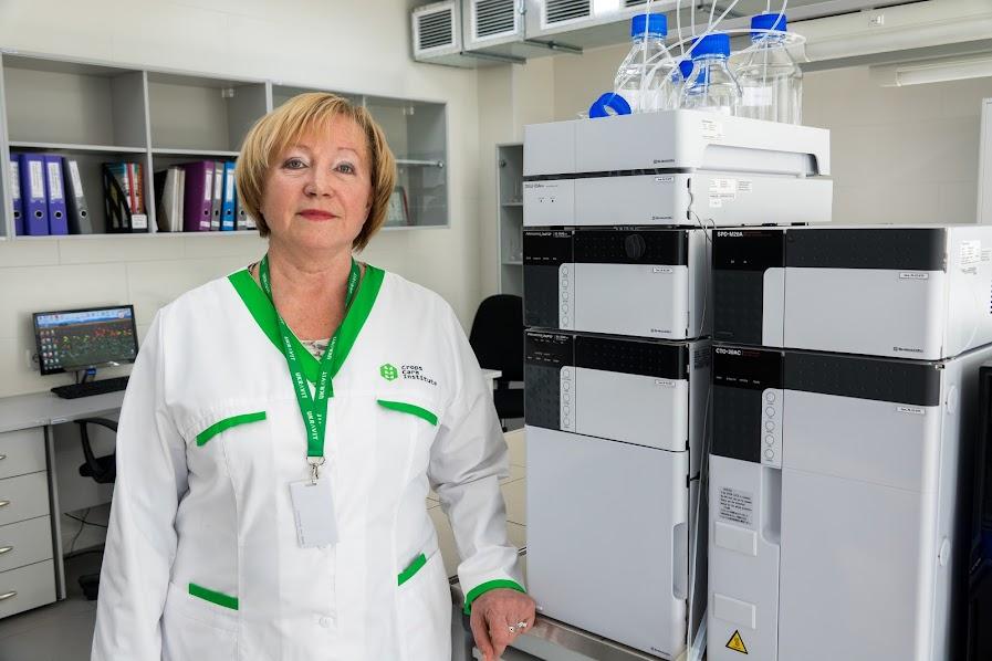 Наталья Рассыхаева, начальник лаборатории аналитического и оперативного контроля Института здоровья растений