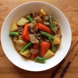 Japanese Beef & Potato Stew