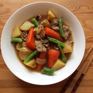 Japanese Beef & Potato Stew.