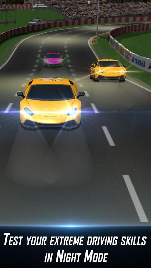 Turbo Thumb Car Racing- screenshot