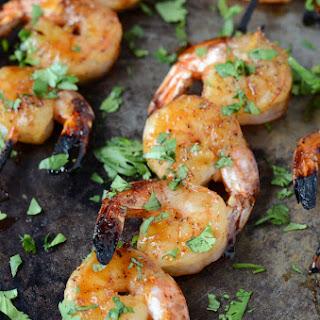 Sweet & Sticky Shrimp.