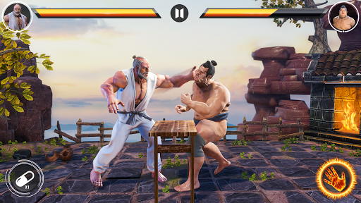 Real Superhero Kung Fu Fight - Karate New Games 3.35 screenshots 2