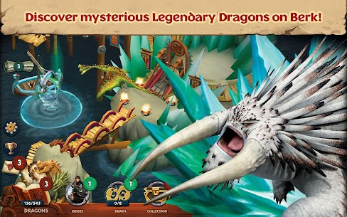 Dragons Rise Of Berk Mod Apk 1.51.7 (Unlimited Runes + No Ads) 4