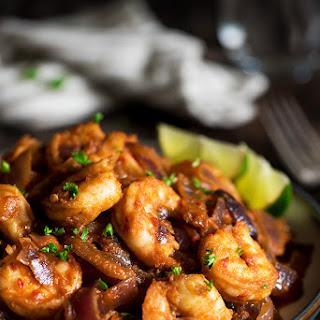 Malaysian Sambal Shrimp.