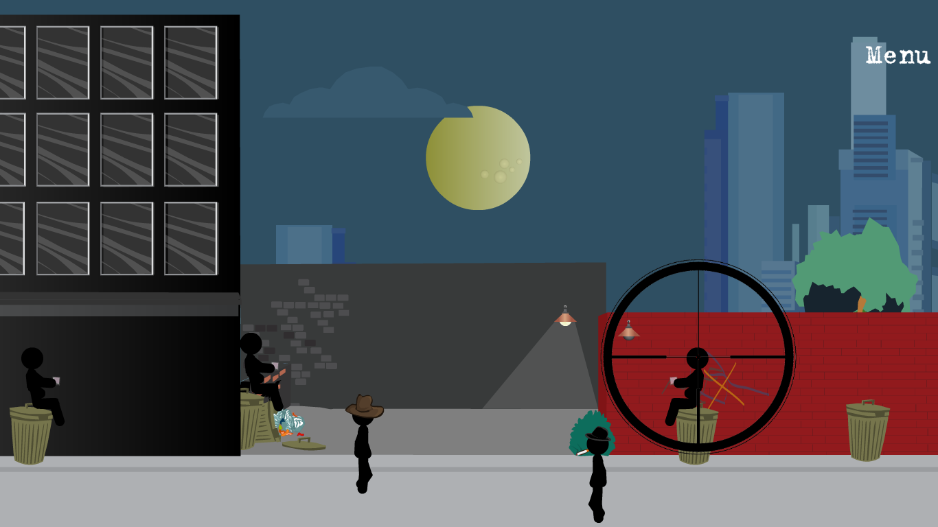 Stickman Sniper 2- screenshot