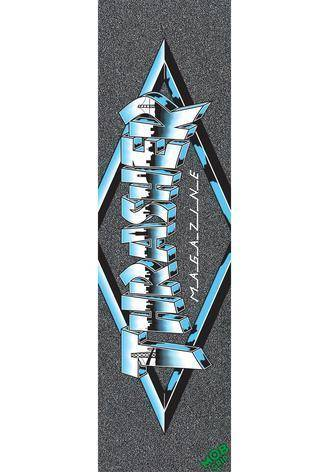 9in x 33in Thrasher Chrome Logo Sheet Mob Skateboard Grip Tape