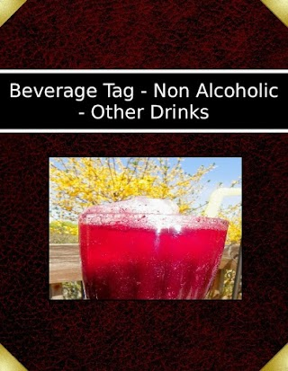 Beverage Tag - Non Alcoholic - Other Drinks