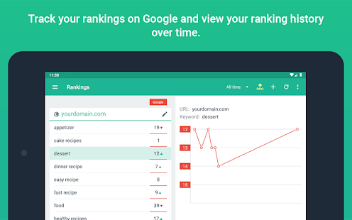 App SEO SERP mojo - Rank Tracker APK for Windows Phone