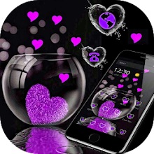 Download App Pink Love Heart Theme APK latest version for PC
