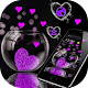 Pink Love Heart Theme APK