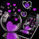 Pink Love Heart Theme APK