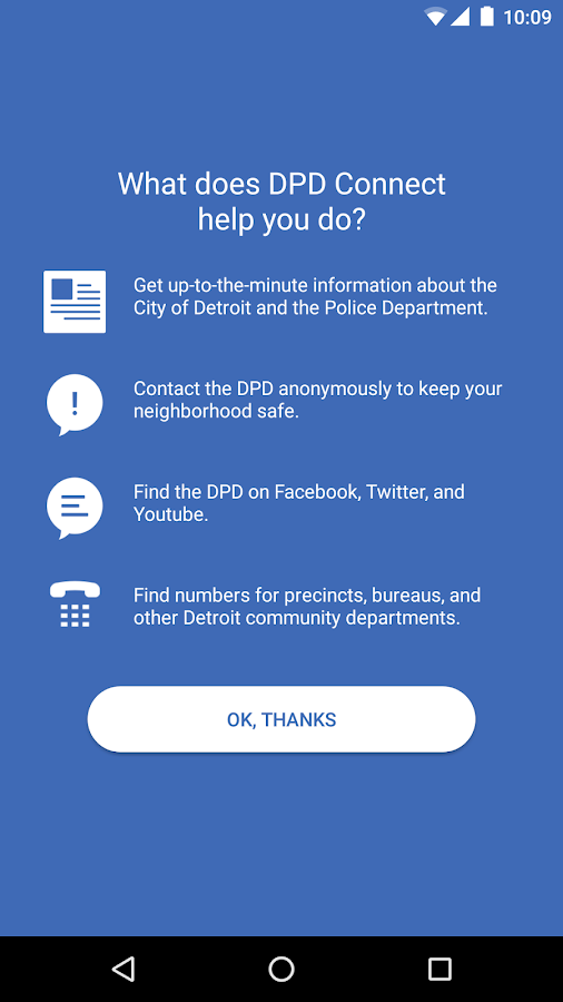 DPD Connect- screenshot