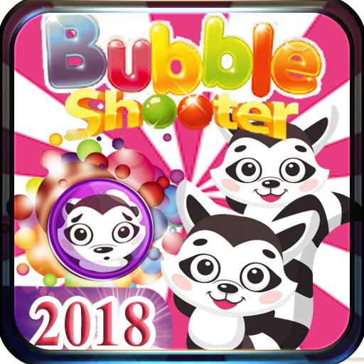 Bubble Shooter Pet Raccoon (game)