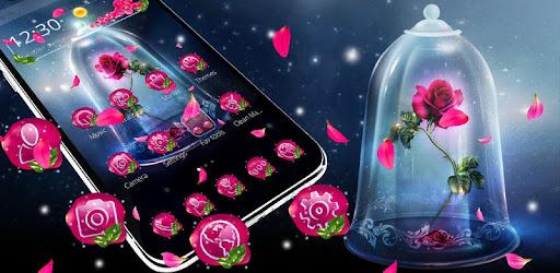 Приложения в Google Play – Beautiful Sparkle <b>Rose</b> Theme