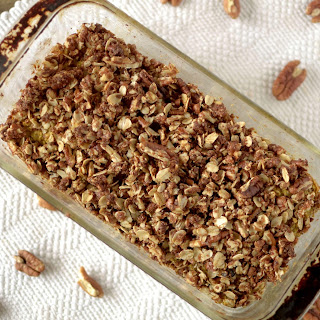 Sweet Potato Pecan Struesel Oatmeal Bread