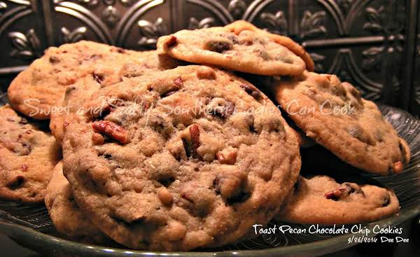 Toasted Pecan Chocolate Chip Cookies