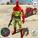 Army Spider Rope Hero Gangstar OffRoad Crime icon