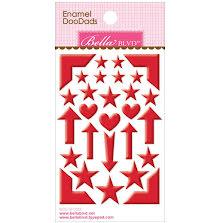 Bella Blvd Enamel Stickers 3X4.75 - McIntosh Doodads UTGÅENDE
