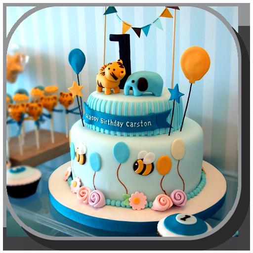 Baixar Ideias de design de bolo de aniversário para Android