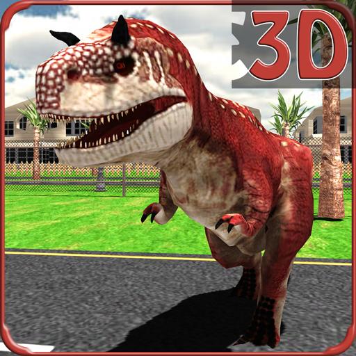 野生恐龍仿真2015年 模擬 LOGO-玩APPs