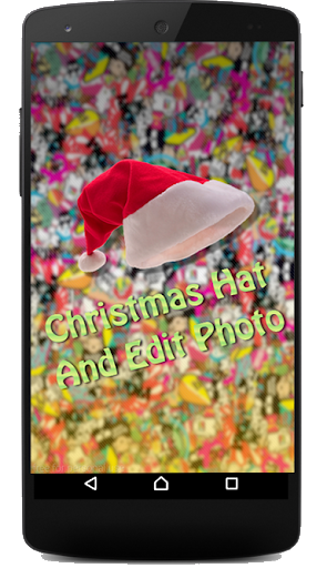 Christmas Hat And Edit photos