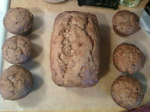 I Just Made This And My Family Loved It. I Made One Loaf And 6 Jumbo Muffins. You Can Omit The  Oatmeal And Use 4 Cups Of Flour Instead.
