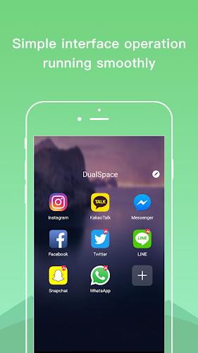 Dual Space - Multiple Accounts & App Cloner Android App Screenshot