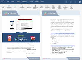 Screenshot of OfficeSuite + PDF Editor