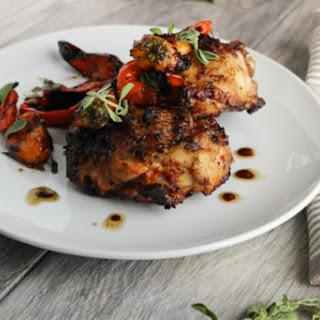 Korean Spiced Chicken Thighs.