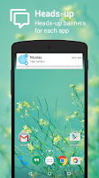 Screenshot of NotifierPro Heads-up