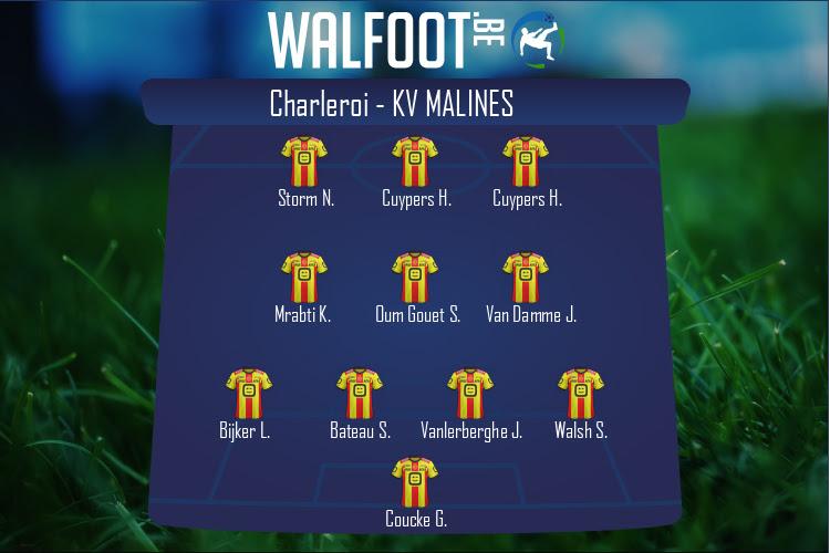 KV Malines (Charleroi - KV Malines)