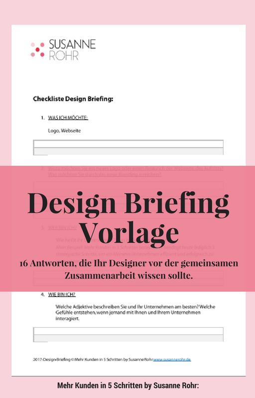 Design Briefing Vorlage herunterladen