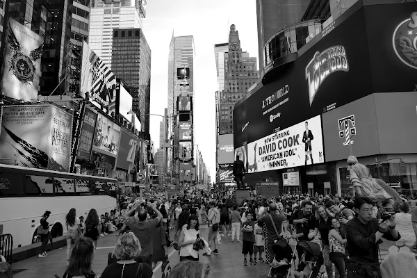 The magic of Times Square di viola94