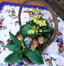 Photo: Ozdoby wielkanocnego stołu