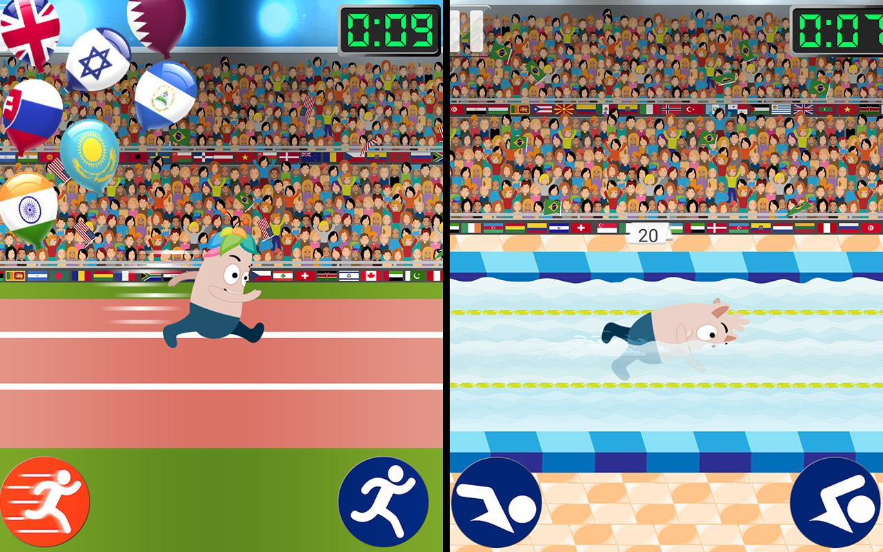 Sports mini games for Kids- screenshot