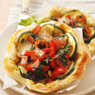 Vegetarian Puff Pastry Tart Recipes.