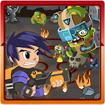 Super Slug Attack Zombies Icon