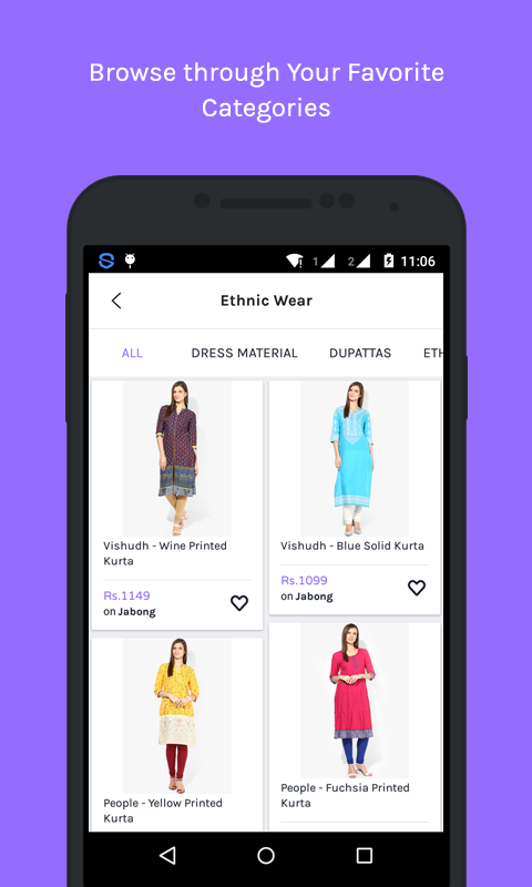 Baggout - Fashion Shopping App- screenshot