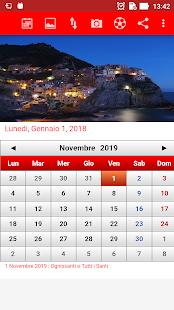 Italia Calendario 2018 - náhled