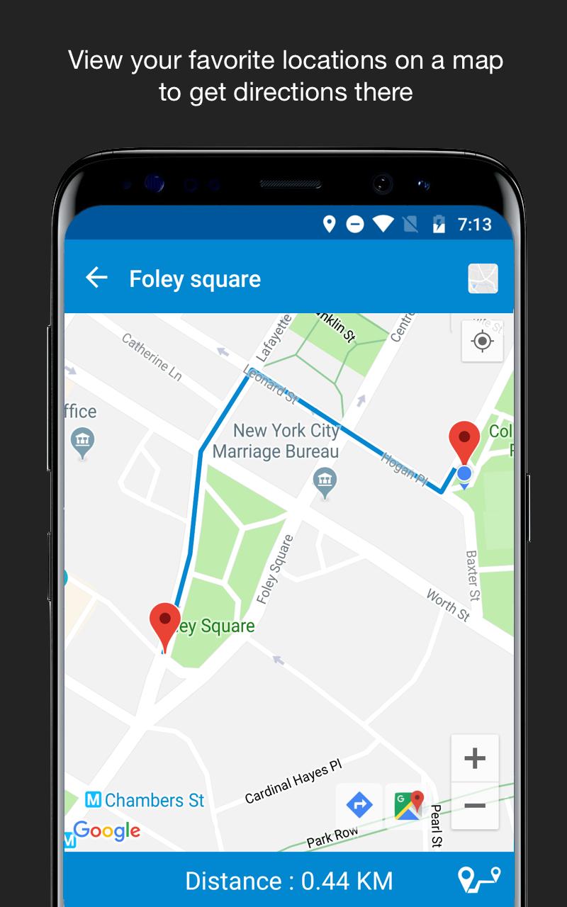 Save Location GPS Screenshot 4