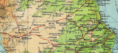 Photo: Southern Province of Tanganyika