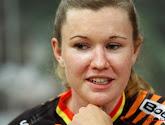 Jolien D'Hoore heeft de eerste etappe van de Healthy Ageing Tour gewonnen